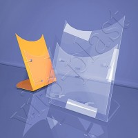Фигурная подставка под буклеты