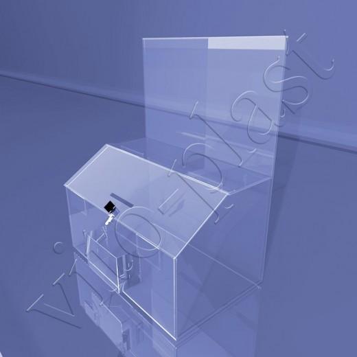 Коробка с размещением информации