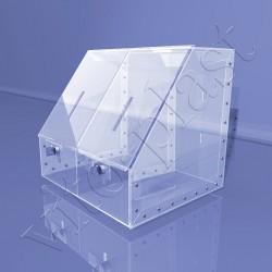 Коробка пластиковая для сбора средств