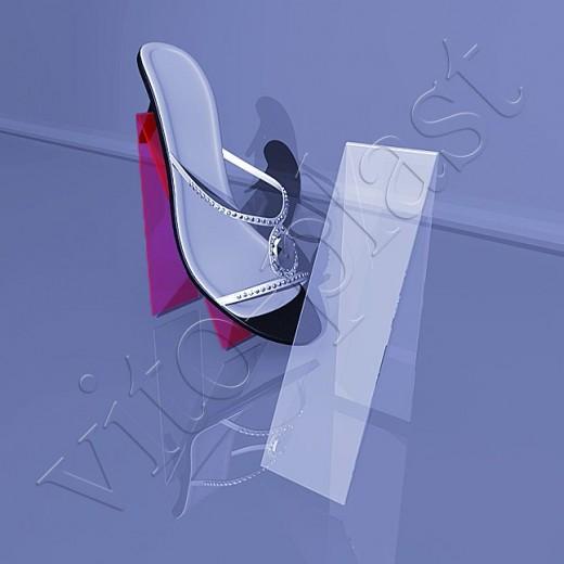 Подставка для обуви пластиковая