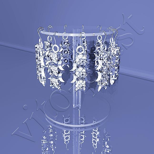 Подставки для бижутерии и украшений, купить подставку под бижутерию и украшения, подставка под серьги, кольца - Vito Plast.