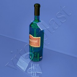 Ценникодержатель на бутылку