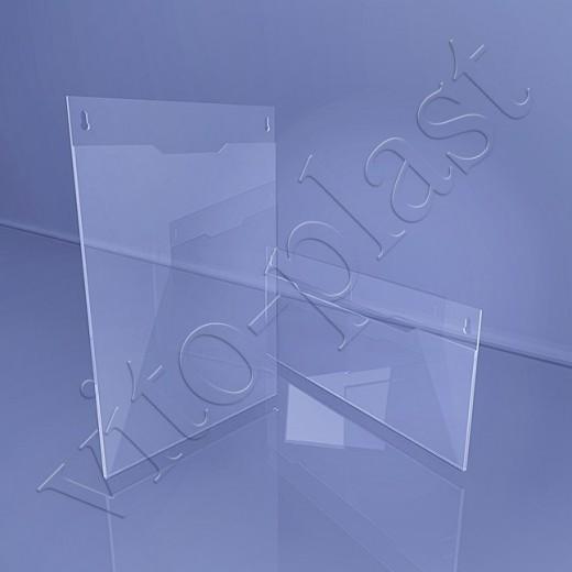 Пластиковый навесной карман