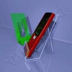Подставка под телефон эконом с ценником