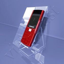 Подставка под телефон с местом для характеристики